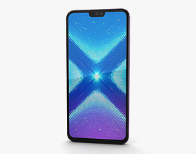 3D model Huawei Honor 8X Pink