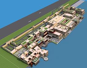 3D model Dubai building 02