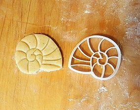 3D print model Nautilus cookie cutter