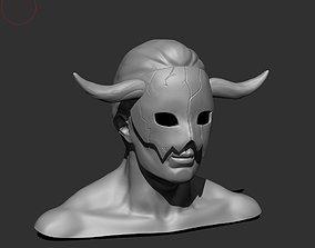 3D printable model Akatsuki no yona shin ah mask cosplay