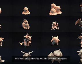 Pokemon - Stylized LowPoly Art - The Collection 3D