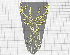 Deer Geometric 3D printable model