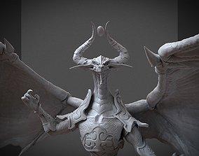 mtg dragon Nicol Bolas God-Pharaoh 3D print model