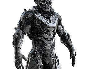 3D suit Cybernetist Zbrush