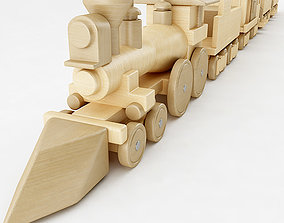 The General Toy Train 3D model