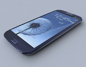 Samsung I9305 Galaxy S III 3D model