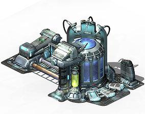 3D model Spacecraft - power collector