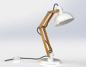 desk lamp design 3D model