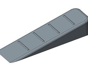 3D printable model house Door Stop Wedge