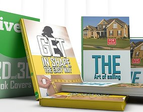 3D books with customisable textures