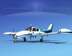 3D Cessna 310 V05