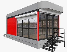 3D model Mobile Pavilion