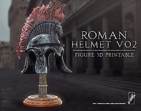 3D print model Roman helmet V02