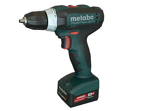 3D model Metabo Cordless drill screwdriver Clean