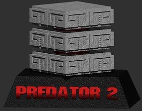 3D print model Predator 2 Base for 1 to12 Figure