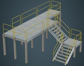 3D asset Industrial Platform 1A