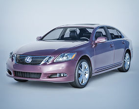 Vray Ready Lexus Gs Car 3D