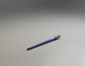 Celtic Tin Whistle 3D asset