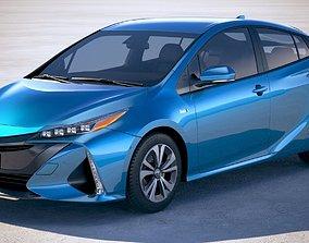 3D model Toyota Prius Prime 2018