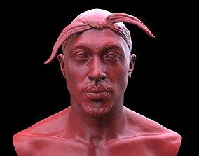 Tupac Shakur Bust 3D printable model