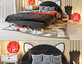 3D bed Kitten LASKA Family