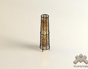 Exotic Mesh Lamp - Small 3D model