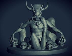 3D print model Evil Creature