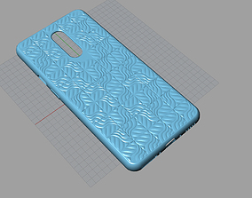 Original Oneplus 7 pro blue case 3D Model 3D print model
