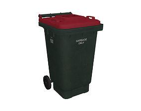 3D model dump Garbage Bin