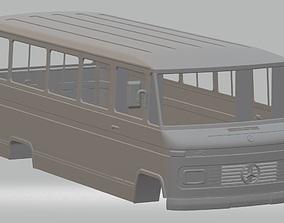Mercedes Benz 309 Mini Bus Printable Body