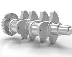 Crankshaft TwinAir standard 3D