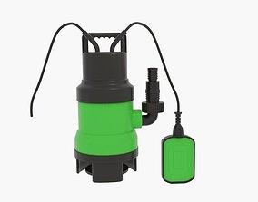 Woodside Dirty Water Pump New 3D