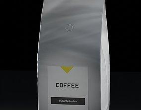 3D model Coffee bag big pack