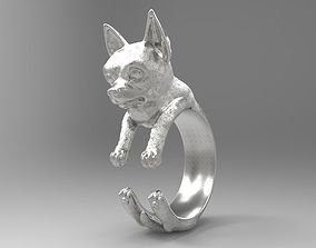 dog ring 3D printable model