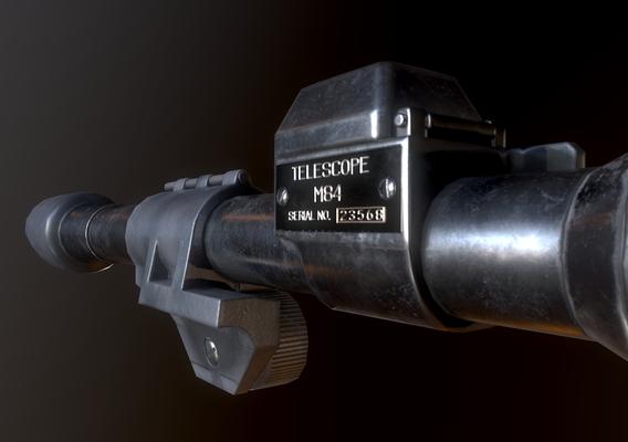 M84 WW2 Scope