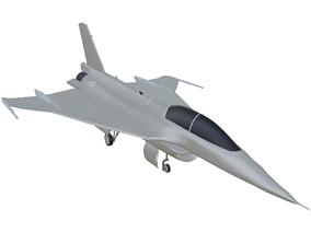 3D model General Dynamics F-16XL-2 - The Forgotten F-16