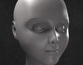 movie Brahm Head Model for 3D Print