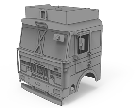 TATA 3718 - 3D Printable 14th Scale 10X2 truck CAB
