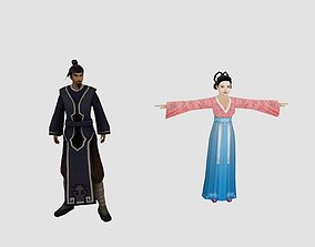 3D model Ancient people1