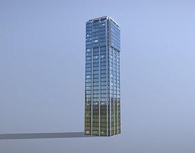 3D asset Building Frankfurt Eurotheum