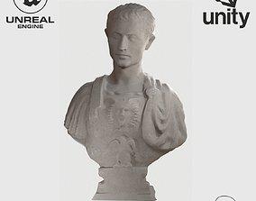 VR Sculpture Julius Caesar by Andrea Ferrucci 3D model 1