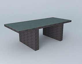 3D Dining table PALERMO houses the world