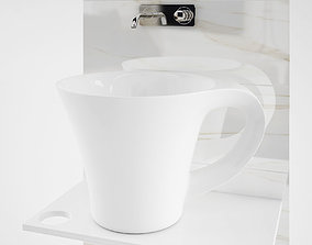 lavabo cup wash basin sink 3D
