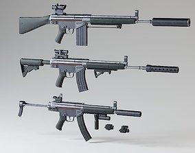 HK Rifles Kit 3D model