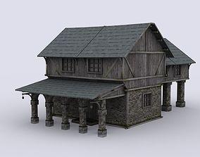 Medival house 2 3D model