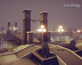 3D model Lion Bridge
