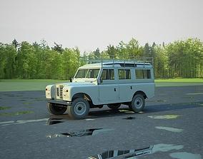 3D Land Rover 109