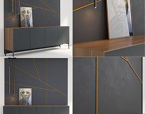 Pianca Norma Ilfari Glow panels picture 3D model