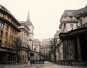 London 3D model street