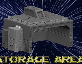 3D print model Storage Area